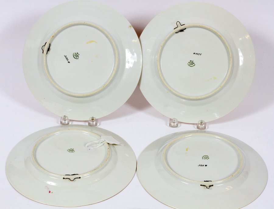 ROYAL CROWN DERBY AND AUSTRIAN PORCELAIN PLATES - 4