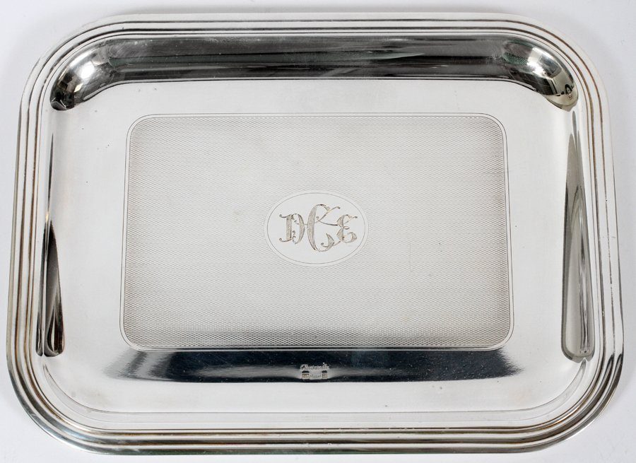 CRISTOPHLE SILVER PLATE TRAY