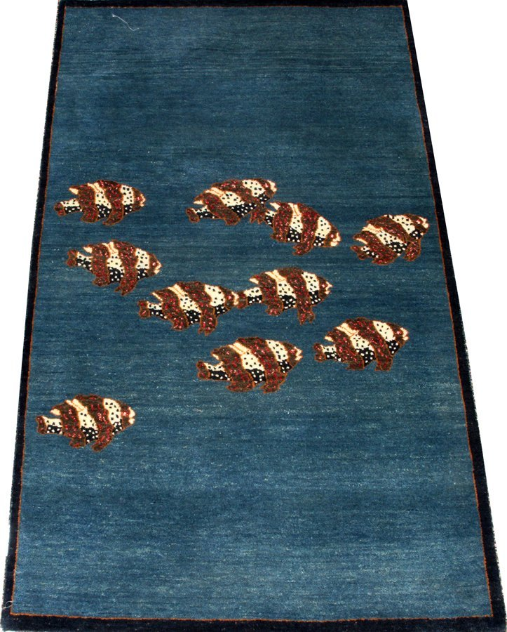OLD WORLD CLASSICS INDIAN HAND WOVEN WOOL RUG
