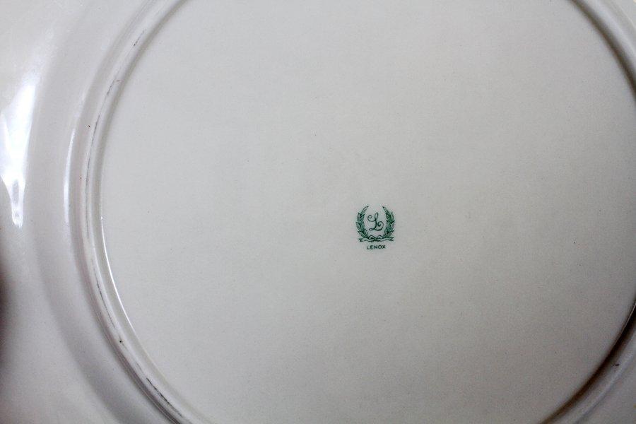 LENOX PLATES PORCELAIN SET OF 12 AND SET OF 11 - 2