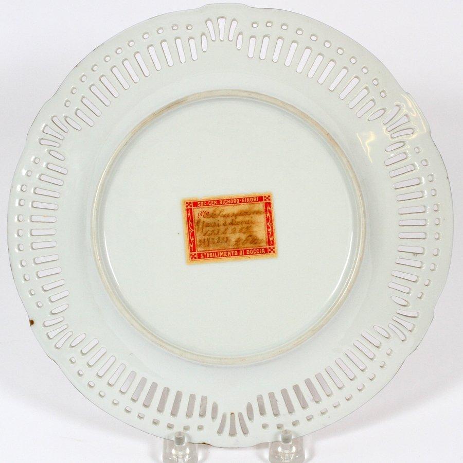 GINORI PORCELAIN PLATE - 3