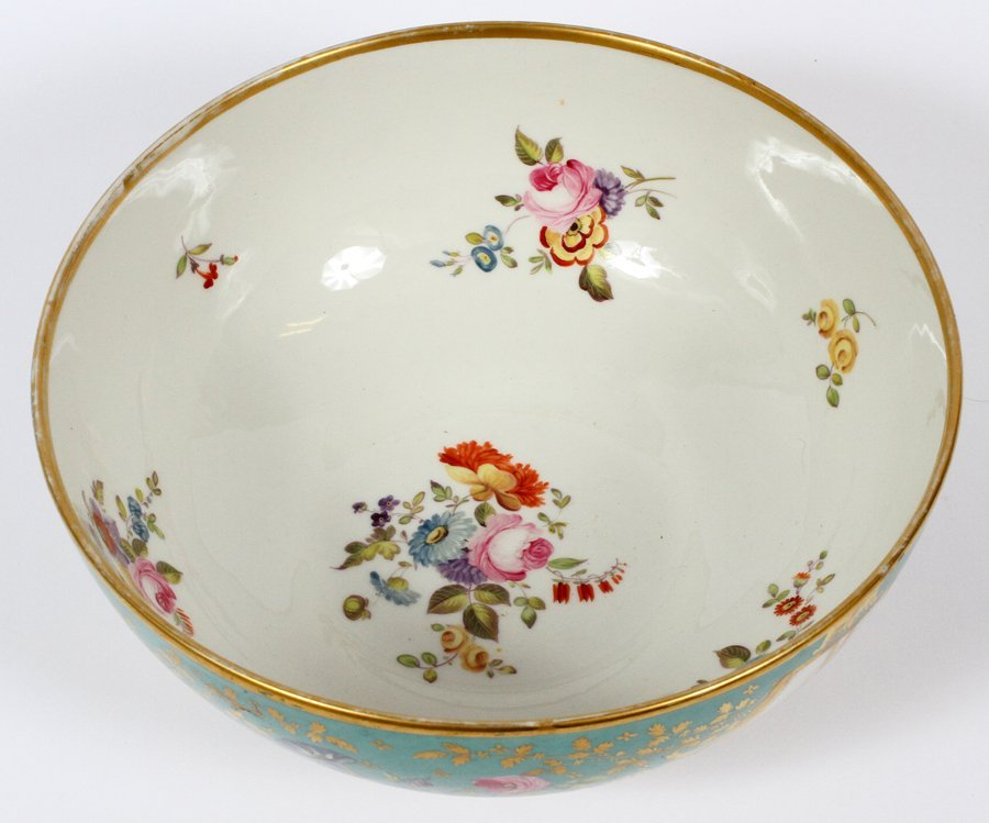ROCKINGHAM PORCELAIN BOWL CIRCA 1850 - 2