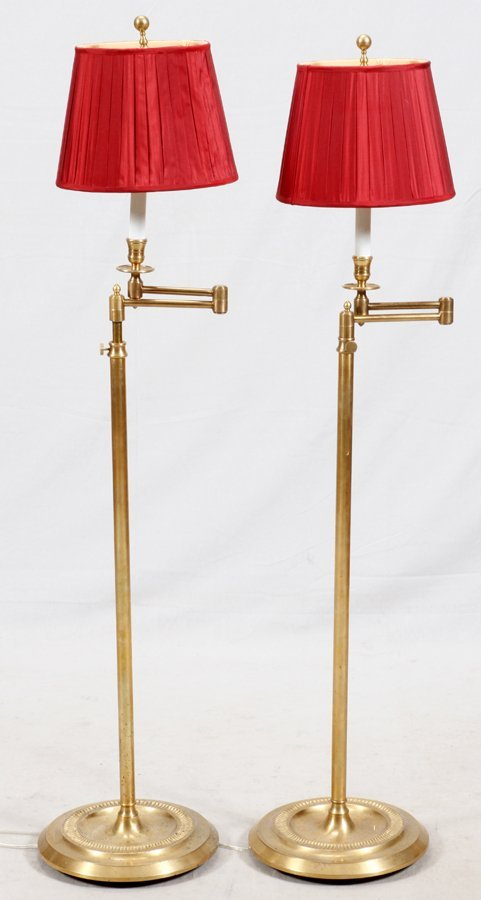 FLOOR LAMP GROUPING 2 PCS.