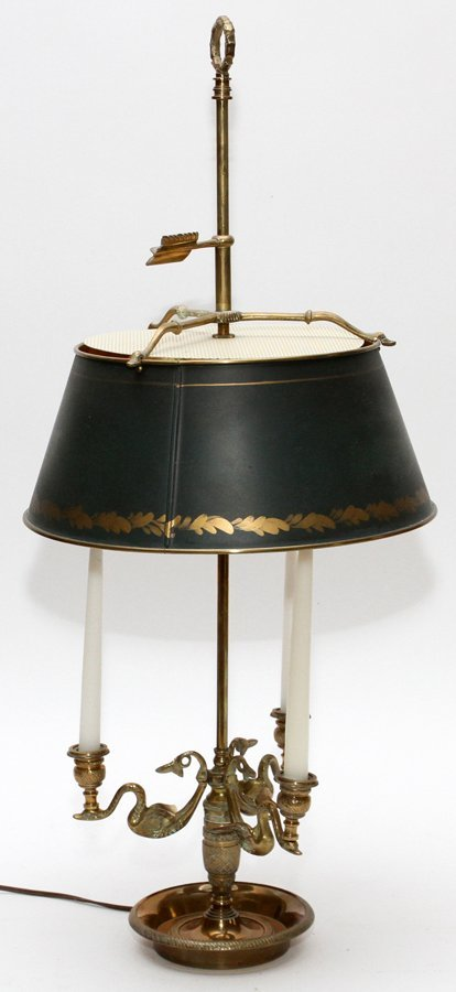 FRENCH CANDELABRA CONVERTED ELECTRIFIED TABLE LAMP