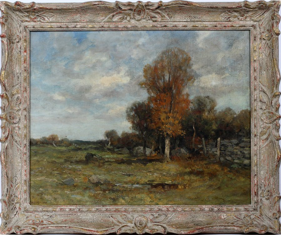 CHARLES PAUL GRUPPE OIL ON CANVAS