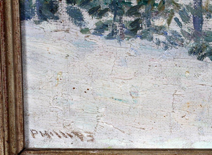 SAMUEL PHILLIPS OIL ON BOARD C. 1930 - 2