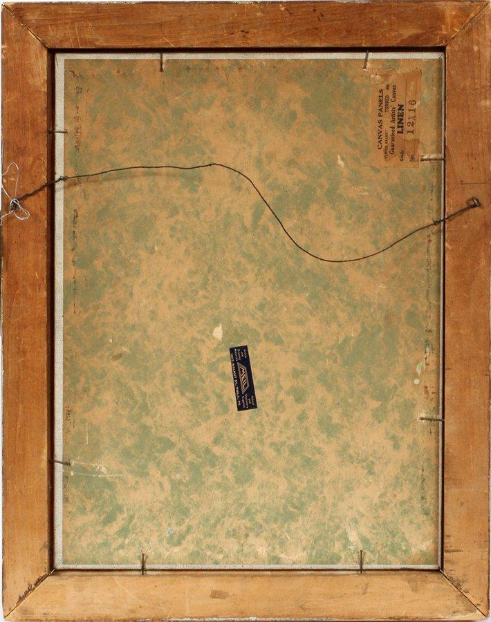 SAMUEL PHILLIPS OIL ON BOARD C. 1930 - 3