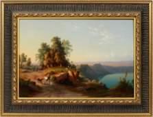RUDOLPH JOHANN BUHLMANN OIL ON CANVAS