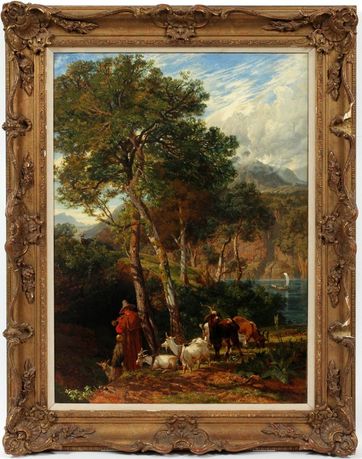 FREDERICK LEE BRIDELL OIL ON BOARD