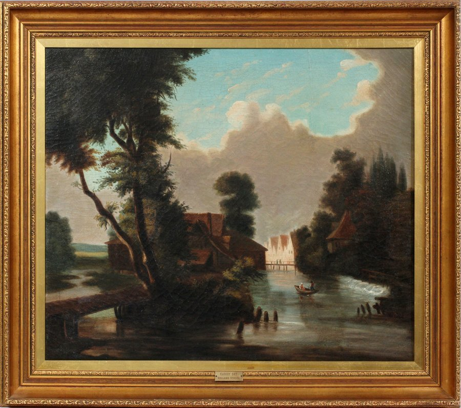 DUTCH SCHOOL OIL ON CANVAS