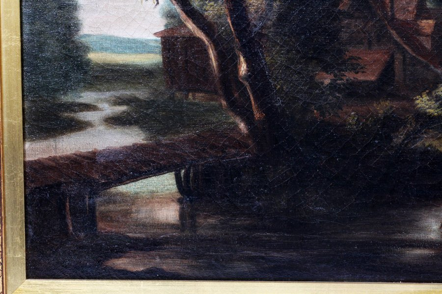 DUTCH SCHOOL OIL ON CANVAS - 3