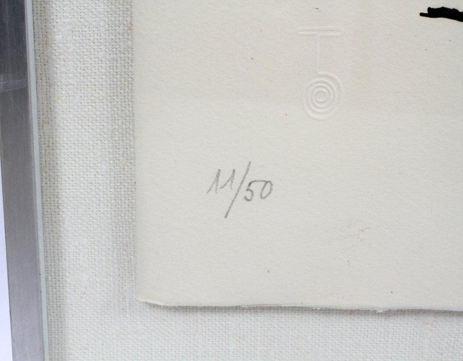 JOAN MIRO ETCHING - 3