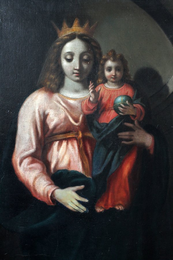 OLD MASTER STYLE OIL ON CANVAS - 2