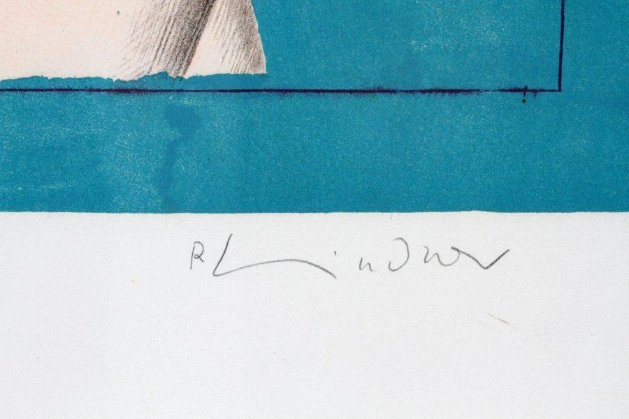 RICHARD LINDNER COLOR LITHOGRAPH - 3