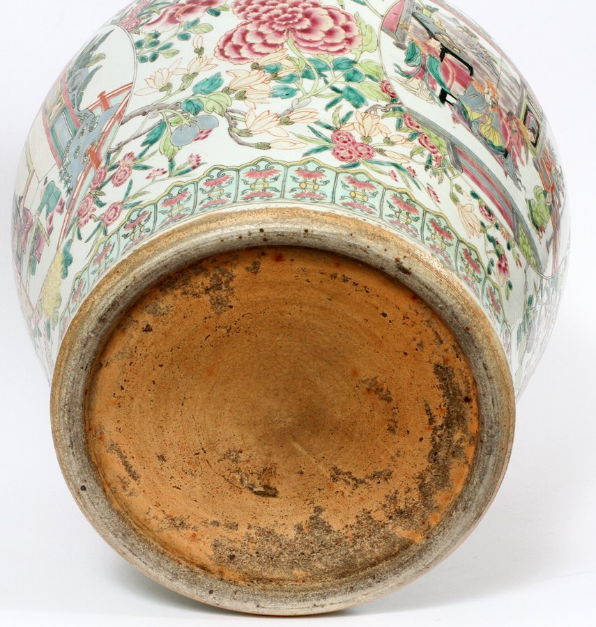 CHINESE PORCELAIN COVERED URN C. 1890 - 3