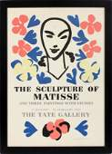 HENRI MATISSE COLOR LITHOGRAPH TATE GALLERY POSTER