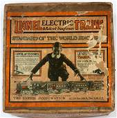 LIONEL PREWAR GAUGE TRAIN SET IN ORIGINAL BOXES