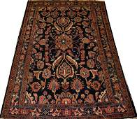 SEMIANTIQUE PERSIAN WOOL RUG C 19201950