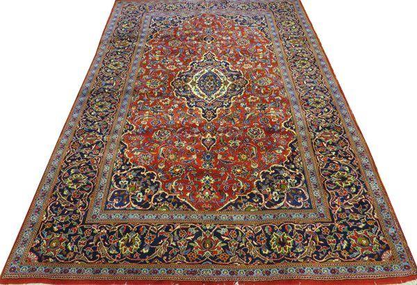PERSIAN KASHAN WOOL CARPET
