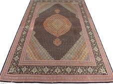 VERY FINE PERSIAN TABRIZ WOOL AND SILK CARPET