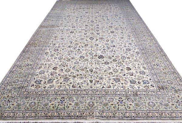 PERSIAN KASHAN KING ABBAS WOOL CARPET