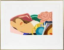 TOM WESSELMANN SERIGRAPH ON PAPER 2675
