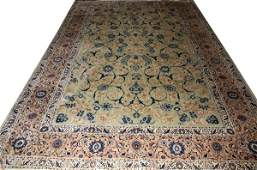 TABRIZ PERSIAN HANDWOVEN WOOL CARPET