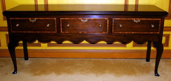 060003: KITTINGER WALNUT & VENEER SIDEBOARD, C.1970