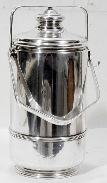 061020: CARTIER STERLING SILVER COVERED ICE BUCKET
