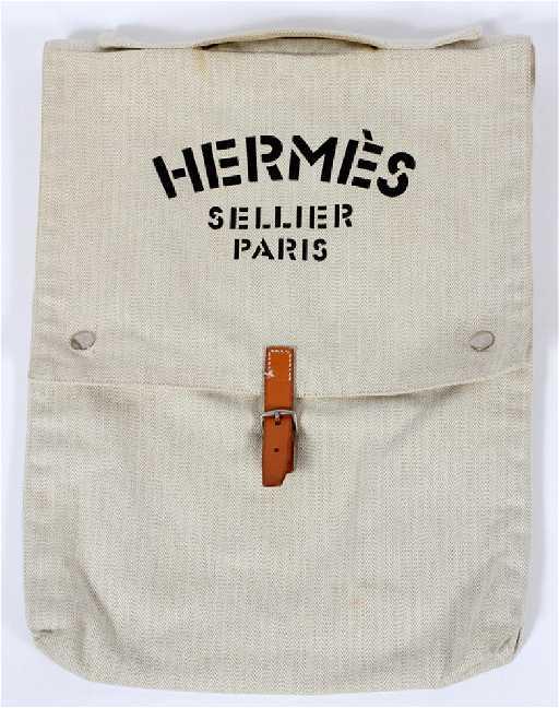 eab59e3a0041 HERMES SELLIER PARIS DAY BAG