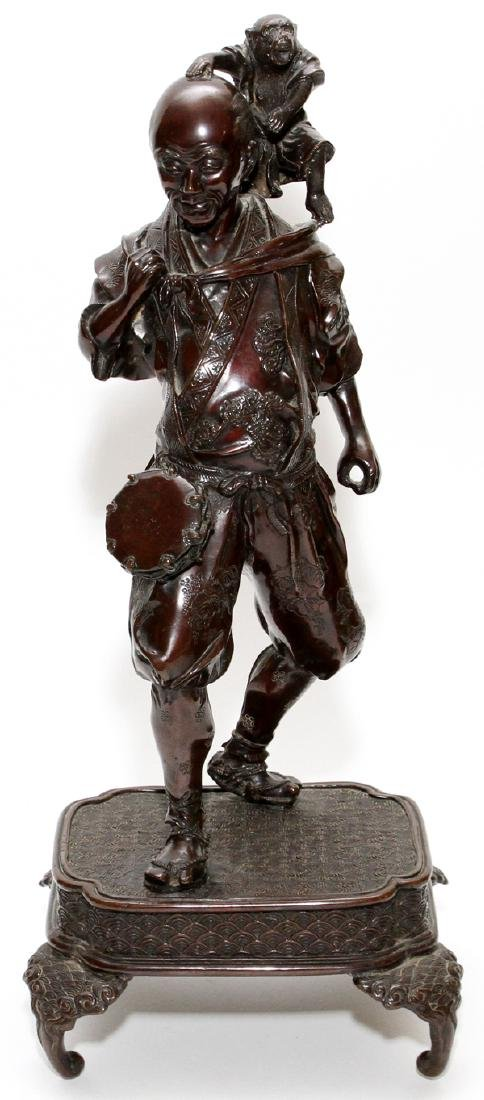 JAPANESE BRONZE SCULPTURE