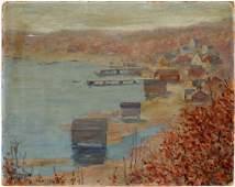 TUNIS PONSEN OIL ON BOARD 1923
