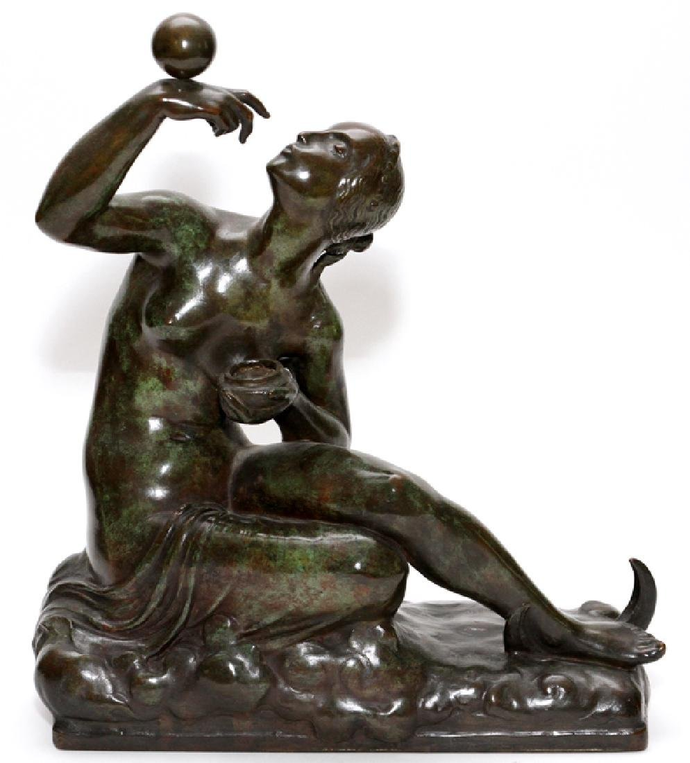 ALBIN POLASEK BRONZE SCULPTURE