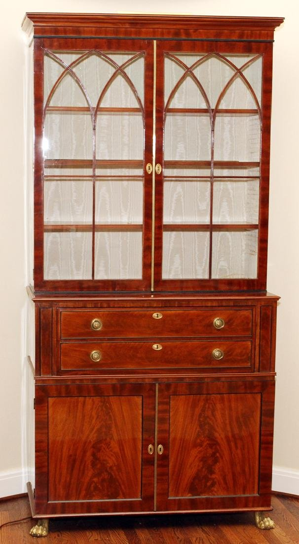 ENGLISH REGENCY SECRETARY CABINET C. 1830