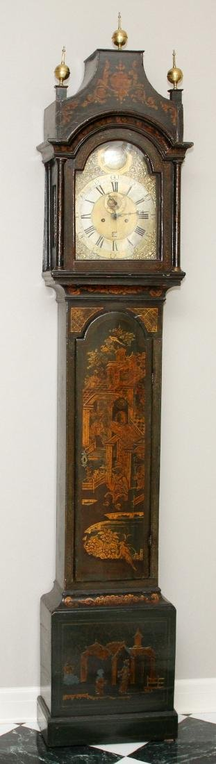 HENRY COOLEY CHINOISERIE GRANDFATHER CLOCK