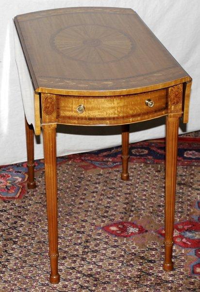 "071015: MAITLAND-SMITH PEMBROKE TABLE, H 28"", W 18"""