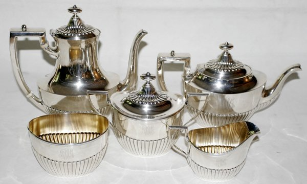 071023: WHITING OF GORHAM STERLING COFFEE & TEA SET