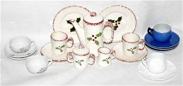 071248 POTTERY  PORCELAIN CHILDS PLAY TEA WARE