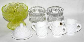 071249: VICTORIAN STYLE GLASS CHILD'S PLAY WARE