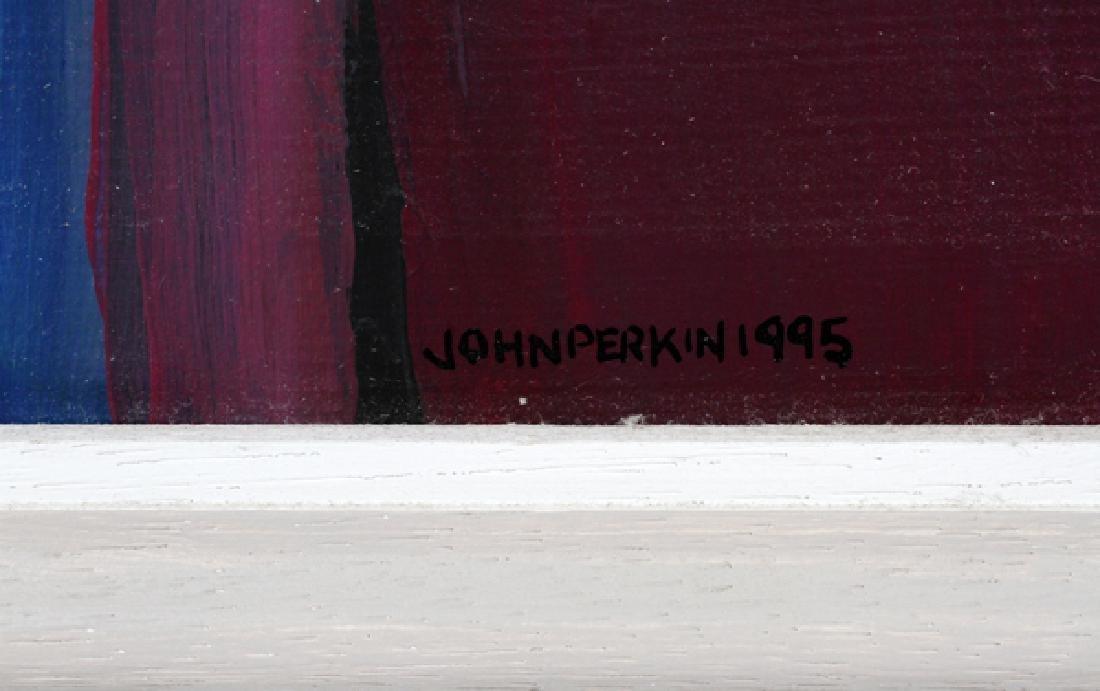 JOHN PERKIN ACRYLIC ON BOARD - 3