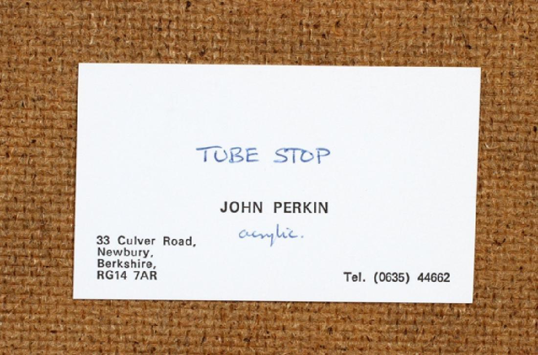 JOHN PERKIN ACRYLIC ON BOARD - 5