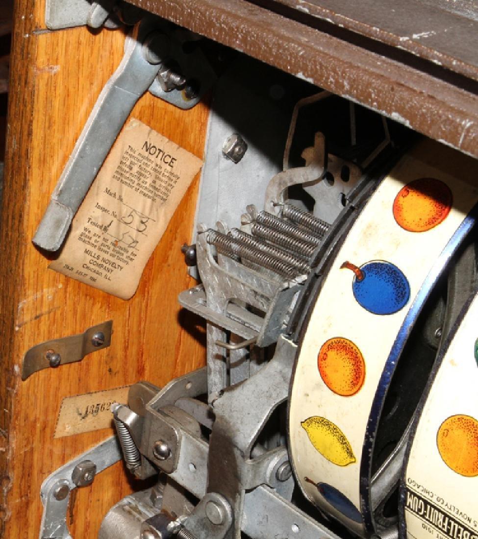 VINTAGE TEN CENT SLOT MACHINE - 6