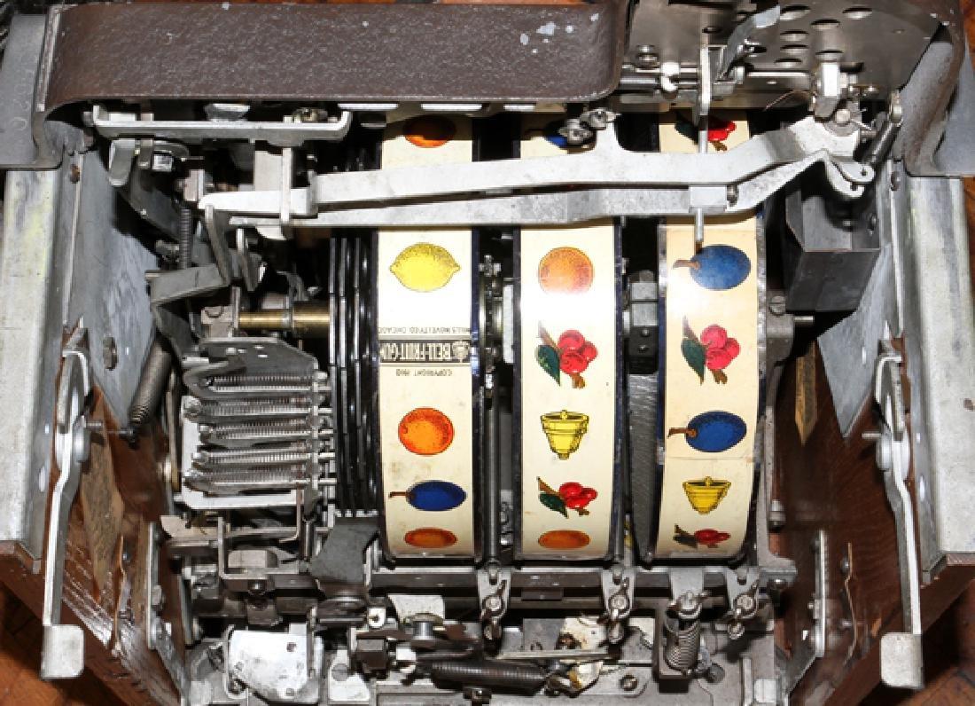 VINTAGE TEN CENT SLOT MACHINE - 7
