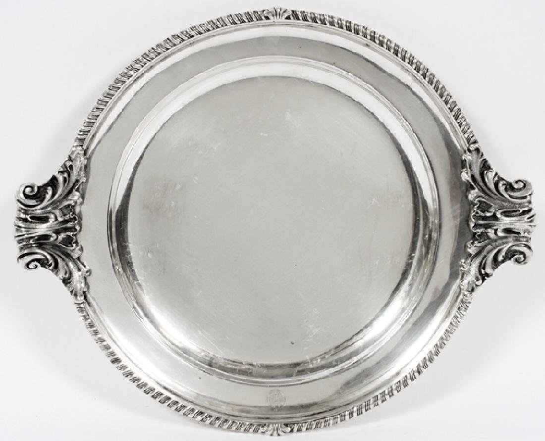 SPANISH 800 PTS. SILVER TRAY