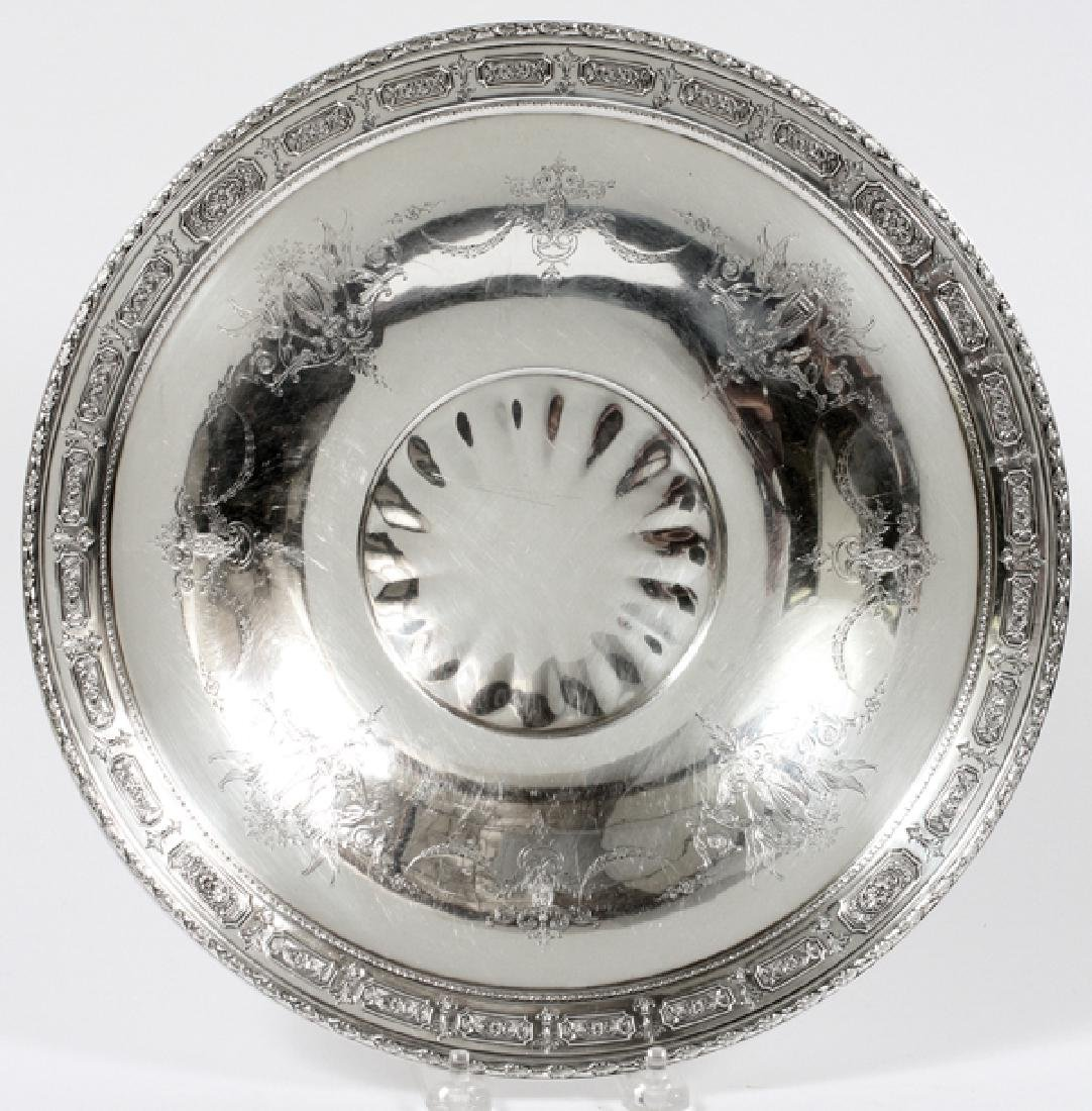TOWLE POMPEIAN ADAM STERLING SILVER FOOTED TRAY