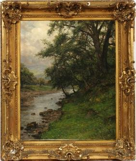 LOUIS ASTON KNIGHT OIL ON CANVAS