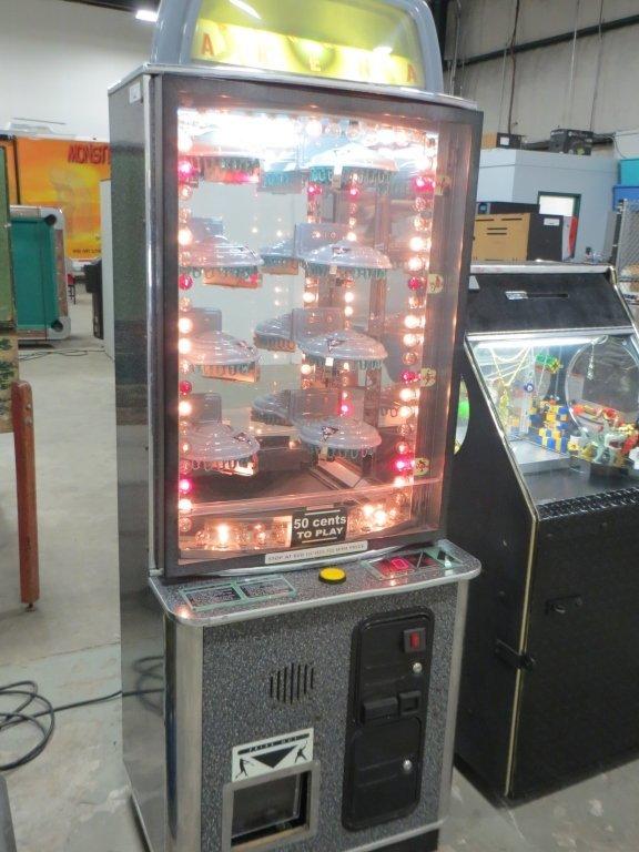 SPORTS ARENA REDEMPTION MACHINE