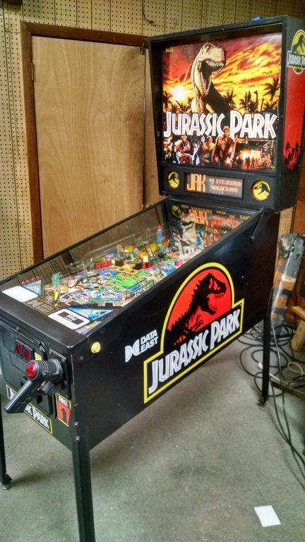 DATA EAST JURASSIC PARK PINBALL
