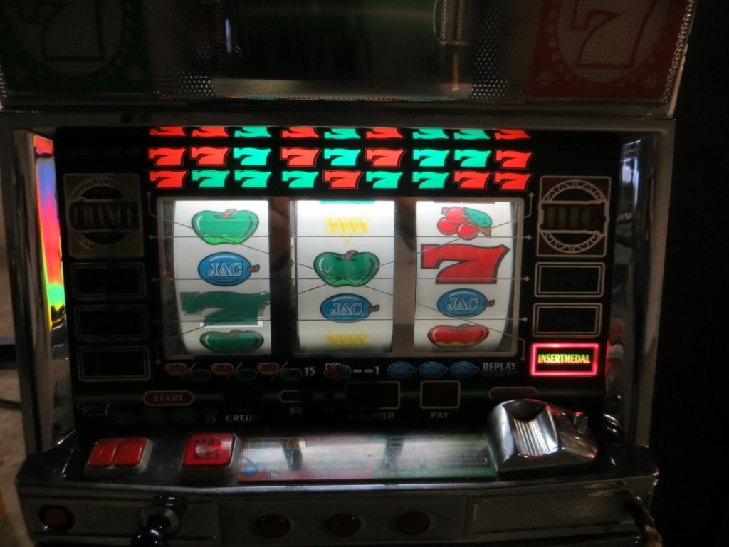 ARUZE CONTINENTAL XXXX TOKEN SLOT MACHINE - 3