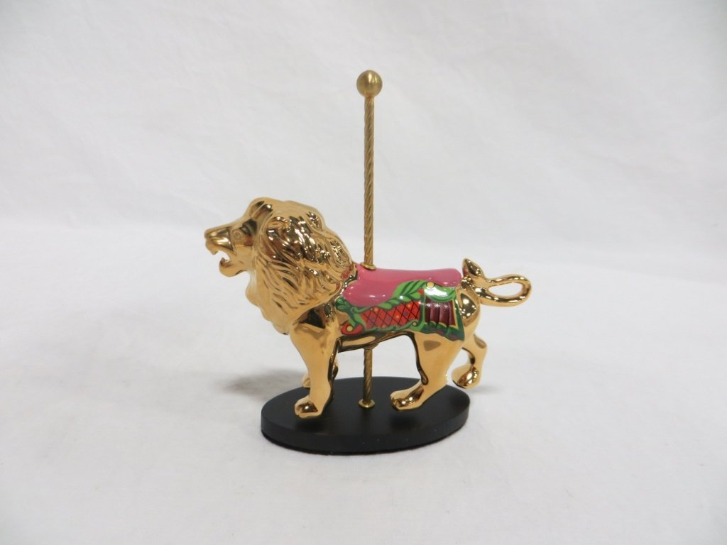 THE FABERGE GOLDEN CAROUSEL: LION